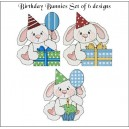 Birthday Bunnies Set