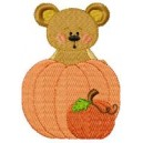 Halloween Bear Face