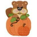 Halloween Beaver Face