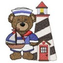 Sailer Bear and Lighthouse