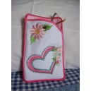 Hearts and Daisies Spectical Case