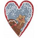 Christmas Ginger Bread Heart