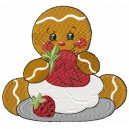 Strawberry Ginger Bread Baby